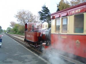 Steam railway Port Erin copy